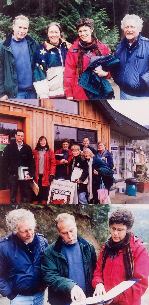 Friends of Salt Spring Parks - 2003